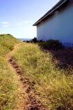 Struttura delle mattonelle dell'arenaria Fotografie Stock