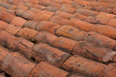 Struttura delle mattonelle di tetto Immagine Stock Libera da Diritti