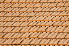 Struttura delle mattonelle di tetto Fotografia Stock
