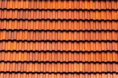 Struttura delle mattonelle di tetto Fotografie Stock Libere da Diritti