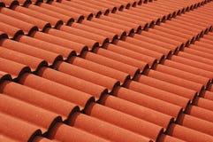 Struttura delle mattonelle di tetto delle Azzorre Fotografie Stock