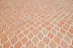 Struttura delle mattonelle sul pavimento Fotografia Stock