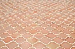 Struttura delle mattonelle sul pavimento Fotografia Stock Libera da Diritti