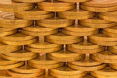 Struttura delle monete Immagini Stock Libere da Diritti