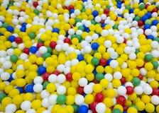 Struttura delle palle del gioco dei bambini Giocattoli per l'illustrazione di children Scherza il entertainm Fotografie Stock
