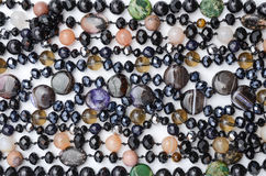 Struttura delle perle di colore Fotografie Stock Libere da Diritti