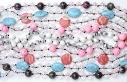 Struttura delle perle di colore Immagini Stock