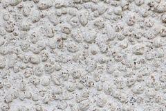 Struttura delle pietre e del muro di cemento in espansione dell'argilla Fotografie Stock