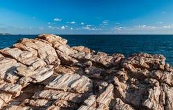 Struttura delle rocce sconosciute del masso immagine stock libera da diritti