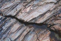 Struttura delle rocce sconosciute del masso fotografie stock