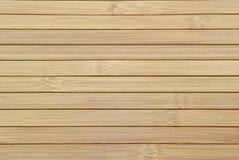 Struttura delle stecche di legno di bambù Fotografie Stock