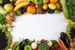 Struttura delle verdure e della frutta Fotografie Stock Libere da Diritti