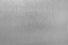 Struttura dello strato e del grano dell'acciaio inossidabile per fondo Fotografia Stock Libera da Diritti