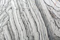 Struttura dettagliata di marmo grigio di lusso in FO modellate naturali Fotografia Stock
