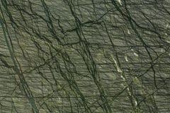 Struttura dettagliata di marmo verde di lusso nella f modellata naturale Immagine Stock Libera da Diritti