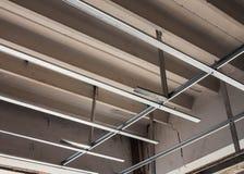 struttura di alluminio del soffitto del C-line Fotografia Stock Libera da Diritti
