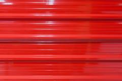 Struttura di alluminio rossa del metallo Immagine Stock Libera da Diritti