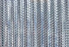 Struttura di alta risoluzione del fondo del metallo bianco del nero di immagini Fotografia Stock Libera da Diritti