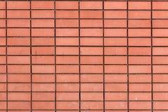 Struttura di alta risoluzione di un muro di mattoni rosso Stenditura dell'orizzontale t Immagine Stock Libera da Diritti