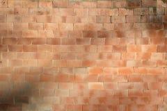 Struttura di alta risoluzione di un muro di mattoni rosso Stenditura dell'orizzontale t Immagine Stock