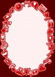Struttura di amore royalty illustrazione gratis