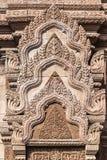 Struttura di architettura nella città antica di Bangkok Immagini Stock Libere da Diritti