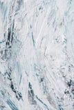 struttura di arte con i colpi blu-chiaro e bianchi della spazzola di fotografie stock libere da diritti