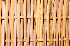 Struttura di bambù buona Fotografia Stock
