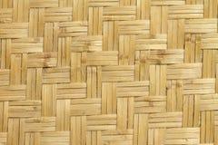 Struttura di bambù del tessuto Fotografia Stock Libera da Diritti