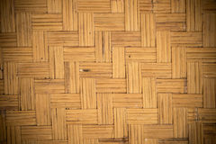 Struttura di bambù del tessuto Immagini Stock