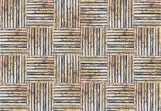 Struttura di bambù del tessuto per priorità bassa Immagini Stock