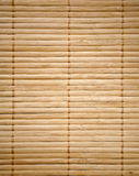 Struttura di bambù della stuoia Fotografia Stock