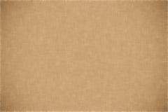 Struttura di beige della tela di canapa Fotografia Stock