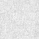 Struttura di bianco del tessuto della tela Fotografie Stock Libere da Diritti