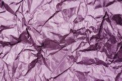 Struttura di carta brillante rosa Fotografia Stock