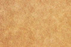 Struttura di carta, carta ruvida, fondo della carta marrone Fotografie Stock