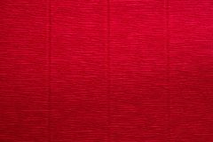 Struttura di carta corrugata rosso Immagine Stock