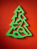 Struttura di carta del fondo di Natale, tema del papercraft Fotografia Stock Libera da Diritti