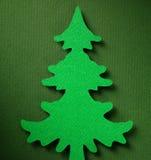 Struttura di carta del fondo di Natale, tema del papercraft Fotografie Stock Libere da Diritti