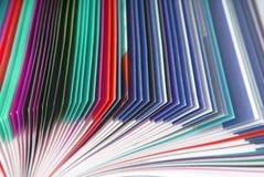 Struttura di carta della rivista Fotografie Stock Libere da Diritti