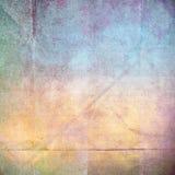 Struttura di carta di lerciume, fondo d'annata illustrazione di stock