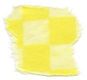 Struttura isolata della carta di riso - giallo Checkered  immagini stock