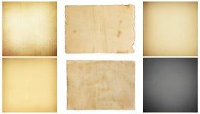 Struttura (di carta) increspata Modello del fondo della raccolta Fotografia Stock