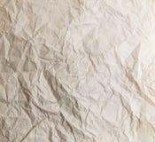 Struttura di carta sbriciolata con le linee quadrate Immagini Stock
