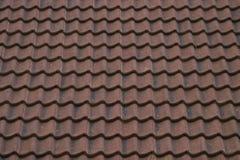Struttura di ceramica del tetto Fotografie Stock