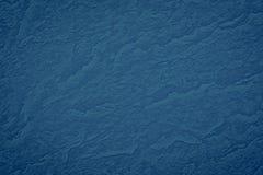 Struttura di colore blu uno strato di carta spazzolato per la b in bianco e pura Fotografie Stock