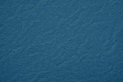 Struttura di colore blu uno strato di carta spazzolato per la b in bianco e pura Fotografie Stock Libere da Diritti