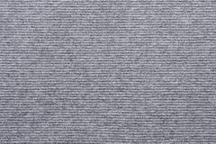 Struttura di colore lilla bianco tricottato del tessuto a strisce immagine stock