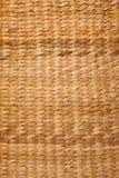 Struttura di colore marrone del cestino tessuto Immagini Stock