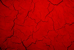 Struttura di colore rosso di Grunge Fotografia Stock Libera da Diritti